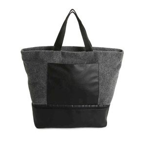 Winter Gray Tote